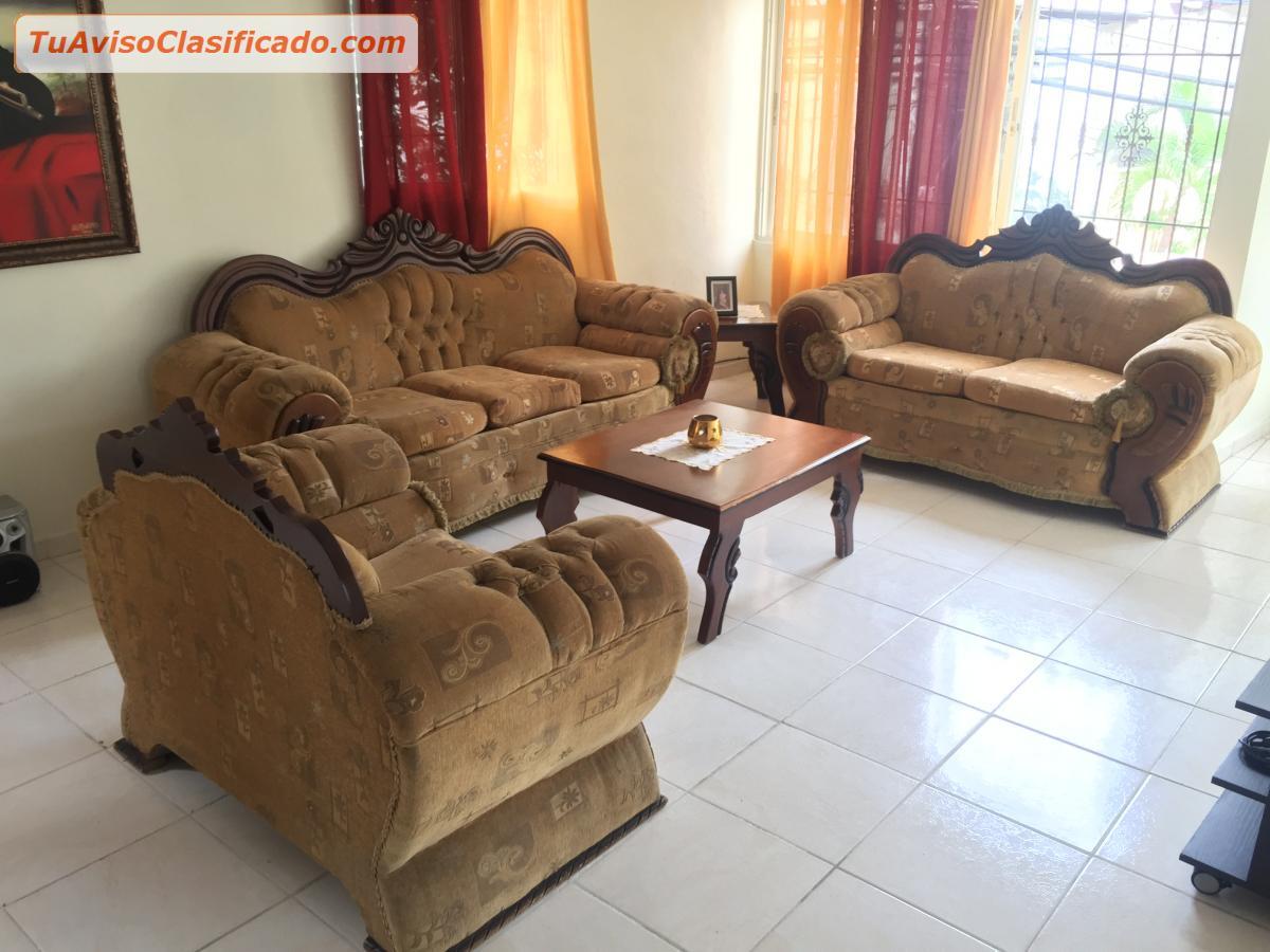 Sof s y sillones de mobiliario y equipamiento en for Muebles de caoba antiguos