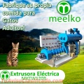 Extrusoras MKEW120B para pellets alimentos para gatos