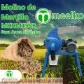 Molino de martillo MKHM158B para arroz silvestre