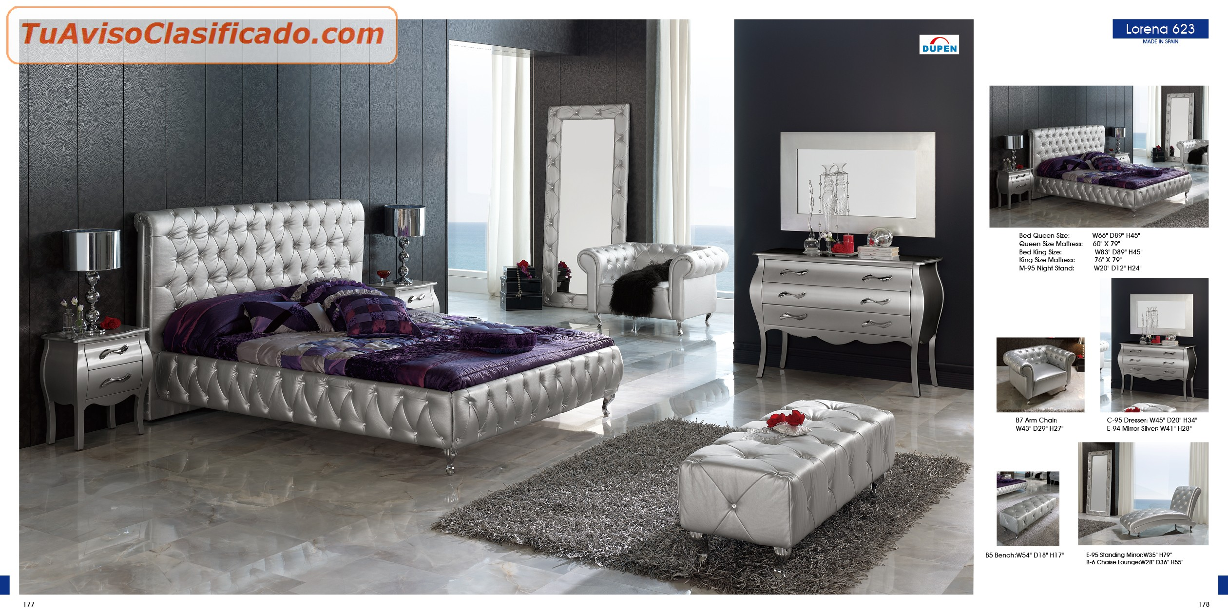 Juego de habitacion super confortable modelos75h04 hogar - Juego de habitacion ...
