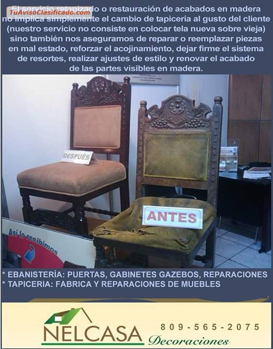 F brica de muebles tapicer a y ebanister a restauraci n for Fabrica muebles uruguay