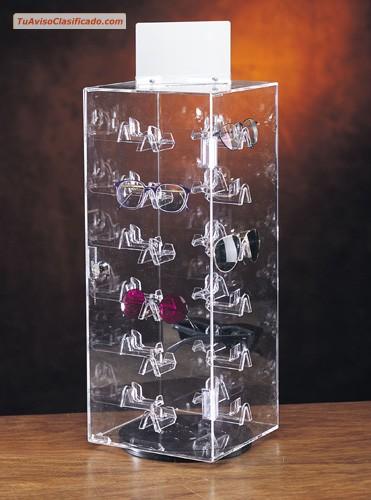97033201d65d Exhibidores para lentes y gafas - Relojes