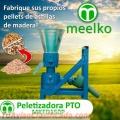 Peletizadora PTO MKFD150P, Astillas de Madera