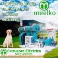 Extrusora MKEW200B pellets alimento de perro