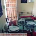 Alquiler Apartamento Amueblado, Gazcue, 1er Piso, gas, agua, TV-Cable