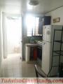 Alquiler apartamento estudio amueblado en gazcue, próximo al colegio Babeque,