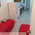 Alquiler apartamento amueblado de 2 habs en Gazcue, Don Bosco, unibe, apec