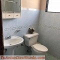 Gazcue, Alquiler apartamento amueblado de tres habitaciones