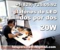 Luminarias LED de techo para su Oficina
