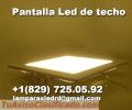 Pantalla LED de techo para oficina