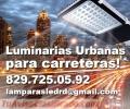 Luminarias Urbanas para postes LED