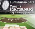 Iluminacion de Cancha de beisbol con LED de 250W