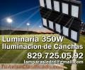 Iluminacion de canchas deportivas y campos de Golf. 350W