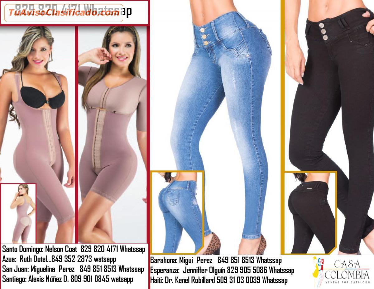 Venda Pantalones Y Fajas Colombianas Por Catalogo Ropa Zapatos