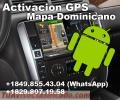 Activacion del GPS del vehiculo, GPS Mapa Dominicana. Android