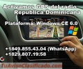 Activamos los GPS del Vehiculo suyo, Dominicana para WindowsCE