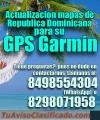 Actualizacion mapas de Republicana Dominicana para su GPS Garmin.