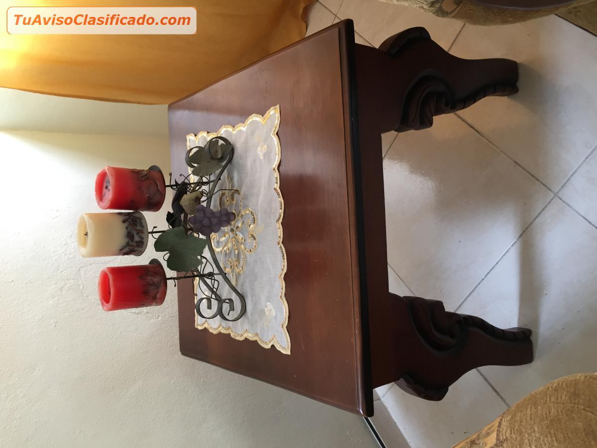 Juego De Muebles En Caoba Mobiliario Y Equipamiento Sof S Y  # Muebles Santo Domingo