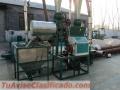 Molino para harina de trigo 450kg kit completo