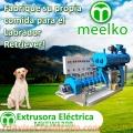 Extrusoras MKEW120B para pellets alimentos para perros
