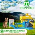 Extrusora MKEW090B para alimento de gatos