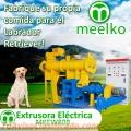 Extrusoras MKEW080B pellets alimentos para perros