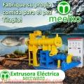 Extrusora MKEW080B pellets flotantes para peces