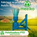 Peletizadora PTO MKFD150P pellets de madera