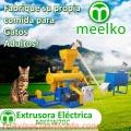 Extrusora MKEW070B pellets alimento para gatos