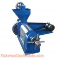 Prensa de aceite 150-200 kg/hr 7,5kw
