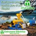 Extrusora MKEW070B pellets flotantes para peces