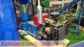 Peletizadora diésel MKFD260A para alfalfas y pasturas