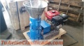 Peletizadora Gasolina MKFD120G para alfalfas y pasturas 70-90kg/h