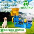Extrusora MKED040C pellets alimento para perros
