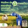 Molino de martillo MKHM420C para comida de cobayo