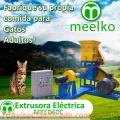 Extrusora MKED060C pellets alimento para gatos