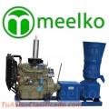 Peletizadora Diésel MKFD360A pellets comida de búfalo