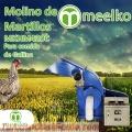 Molino de martillo MKHM420C para comida de gallina