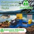 Extrusora MKED120B pellets flotantes para peces