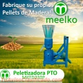 Peletizadora MKFD230P para pellets con madera