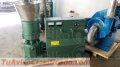 Peletizadora MKFD360C, compost en fertilizantes