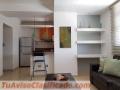 Gazcue Alquiler apartamento amueblado de 1 dormitorio