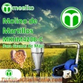 Molino de martillos para granos de maiz MKHM420B-C
