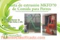 Planta de extrusión MKFD70 de Comida para Perros