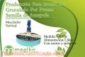 Producción Para 2tonH De Granulado Por Prensa Semilla de Amapola
