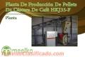 Planta De Producción De Pellets De Cáscara De Café HKJ35-F
