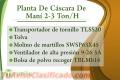 Planta De Cáscara De Maní 2-3 Ton/H