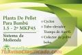 Planta De Pellet Para Bambú 1.5 - 2º MKP45