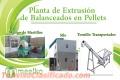 Planta de Extrusión de Balanceados en Pellets 1.8-2 ton/Hr