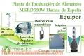 Meelko Planta de Producción de Alimentos MKRD350W Harina de Espelta
